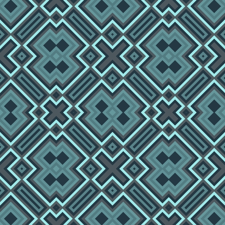 gray pattern: Abstract geometric seamless pattern - computer generated graphic Stock Photo