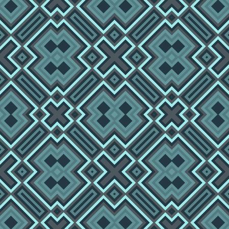 azul turqueza: Modelo inconsútil geométrico abstracto - generados por computadora gráfica