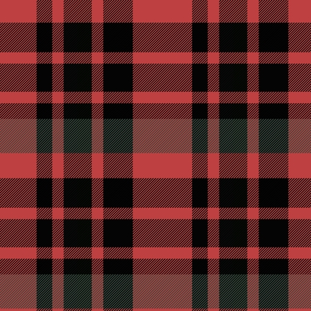 rouge et noir: Abstract smoky red black green seamless checkered pattern Banque d'images