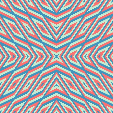 centralized: Abstract kaleidoscopic geometric starry pattern
