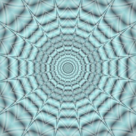 centralized: Abstract blue gray spiky centralized concentric rounds background