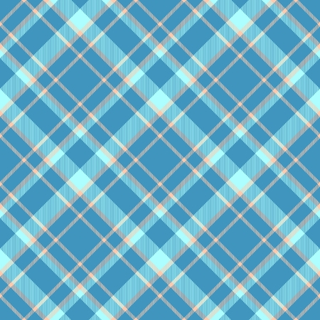 hanky: Abstract seamless blue checkered textile pattern - digitally rendered graphic