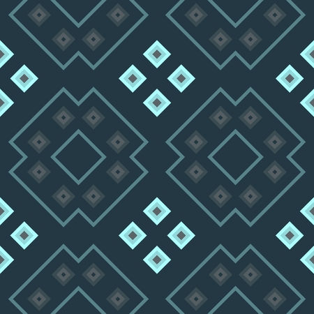 subdued: Seamless geometric kaleidoscopic wallpaper in subdued shades