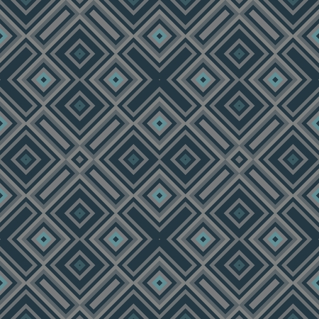 smoky: Abstract smoky petrol gray seamless geometric pattern Stock Photo