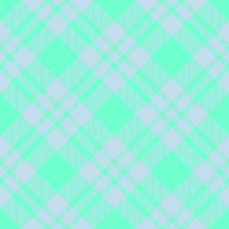 Abstract seamless blue white checkered textile pattern - digitally rendered graphic Stock Photo