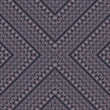 backcloth: Abstract filigree lacy smoky decorative cross seamless pattern