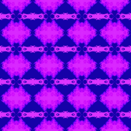 tiling: Blue pink filigree fractal kaleidoscopic regular tiling pattern