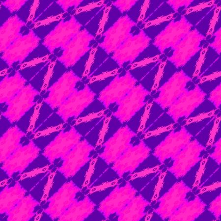 diagonally: Abstract purple violet kaleidoscopic seamless diagonally filigree pattern Stock Photo