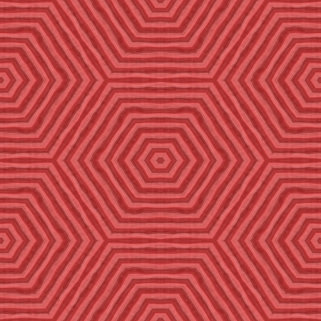 fine lines: Abstract red monochromatic kaleidoscopic pattern composed of irregular fine lines