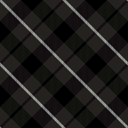 diagonally: Abstract black white monochromatic checked crossover striped diagonally seamless pattern
