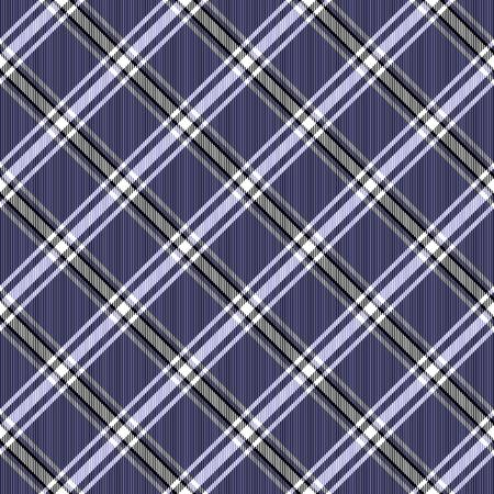 bias: Skew check dark blue, black and white pattern composed of crossed bias Stock Photo
