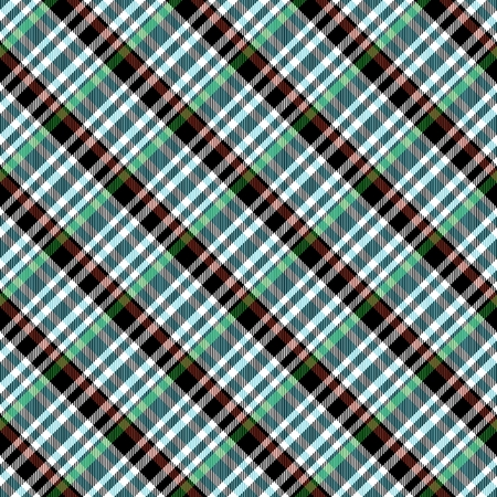 chequered drapery: Abstract checkered oblique seamless pattern