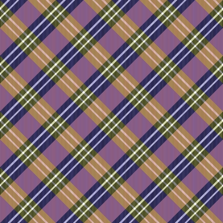 crossover: Abstract checked yellow pink blue crossover striped diagonally seamless pattern Stock Photo