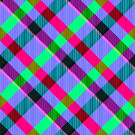 complementary: Psychedelic oblique checkered pattern with complementary shades