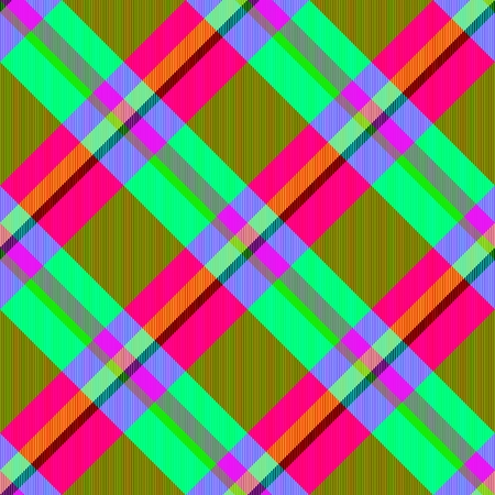 oblique: Psychedelic oblique checkered pattern with complementary shades