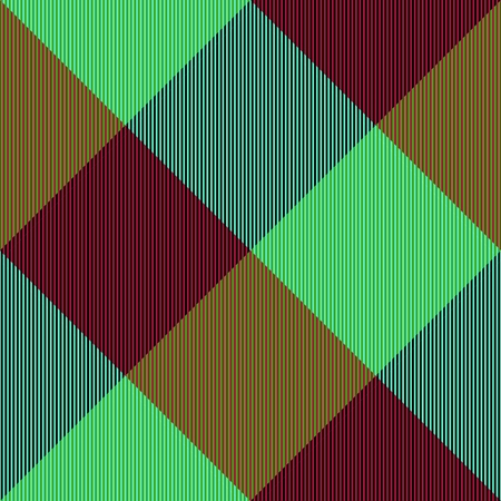 complementary: Abstract turquoise green ocher brown seamless checkerboard pattern with complementary colors