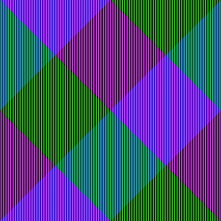 complementary: Abstract violet green seamless checkerboard pattern with complementary colors
