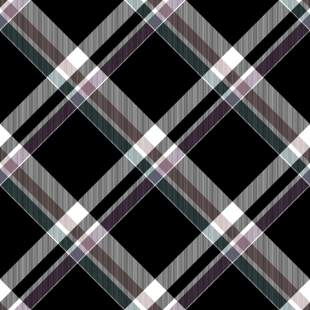 diagonally: Abstract checked crossover striped diagonally seamless pattern