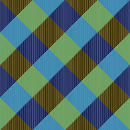 complementary: Abstract seamless blue brown checkerboard pattern with complementary colors