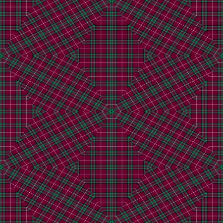 mirroring: Abstract seamless purple blue kaleidoscopic fabric textured pattern