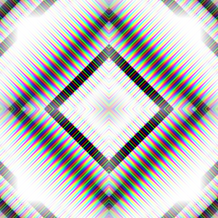 Abstract black white gray opalescent seamless tile - digitally rendered pattern Stock Photo