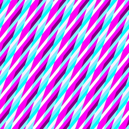 oblique: Abstract purple blue white seamless oblique irregular striped pattern Stock Photo