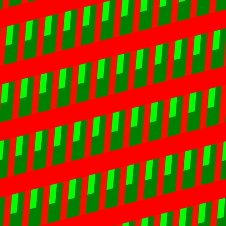sidebar: Red green seamless skew striped grid pattern