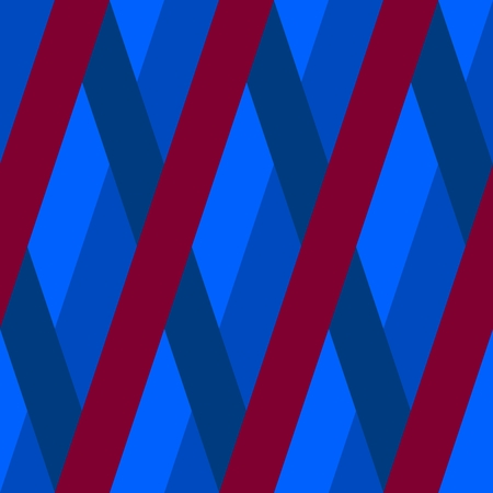 oblique: Abstract seamless Blue red violet oblique irregular striped pattern