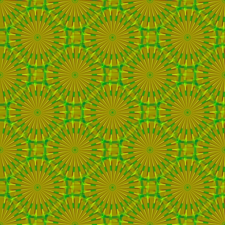 rendered: Yellow green abstract seamless pattern - digitally rendered design