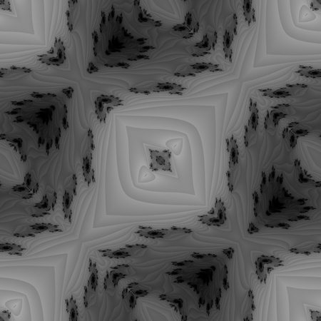 tonality: Abstract fractal filigree seamless oblique striped pattern - digitally rendered design