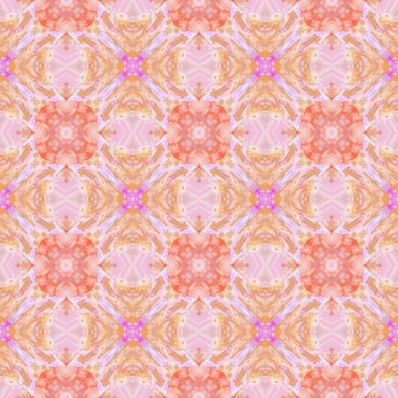 snug: Pastel bright colorful decorative kaleidoscopic pattern - digitally rendered design