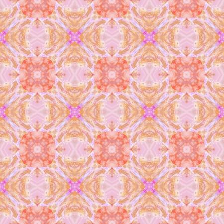snug: Pastel bright colorful decorative kaleidoscopic pattern - digitally rendered design