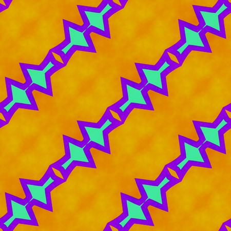 gaudy: Abstract rainbow colors seamless oblique pattern in op art style