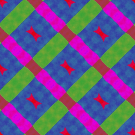 oblique: Abstract rainbow colors seamless oblique pattern in op art style