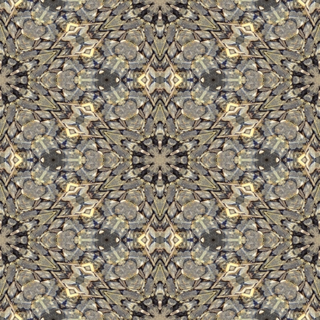 digitally: Kaleidoscopic decorative textured tile - digitally rendered pattern