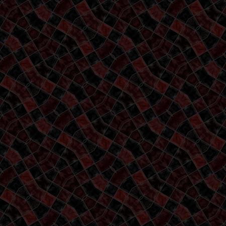 oblique: Dark oblique mosaic kaleidoscopic tile able background