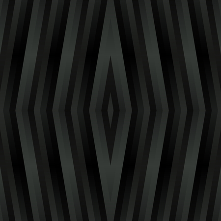 rhombic: Abstract kaleidoscopic rhombic metal-like gray pattern in cubist style Stock Photo