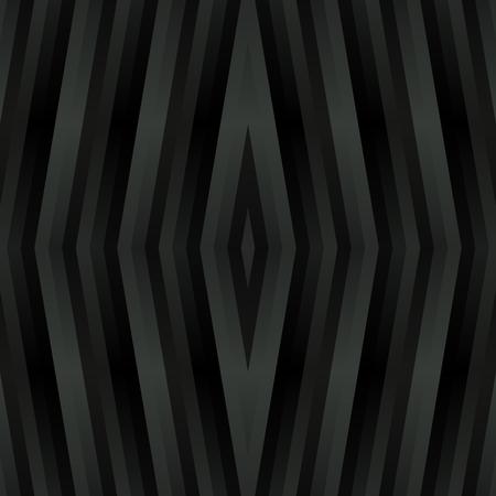 marqueteria: modelo gris romboidal de metal-como caleidoscópico abstracto en el estilo cubista