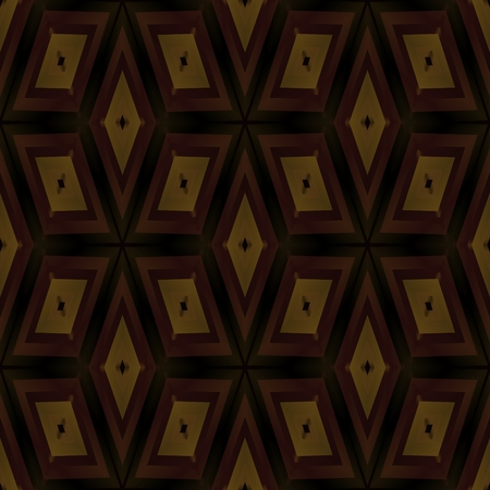 honorable: Abstract geometric kaleidoscopic fractal mirroring tile able pattern Stock Photo