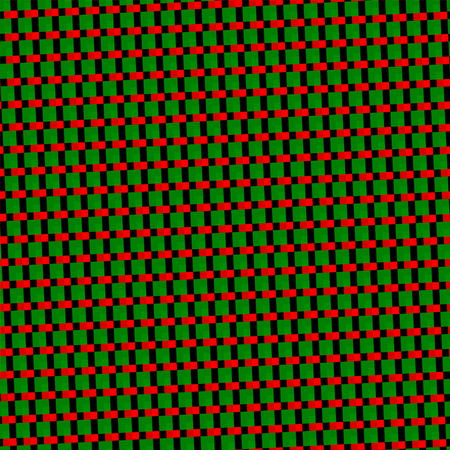 sidebar: Abstract skew red green black seamless geometric pattern Stock Photo
