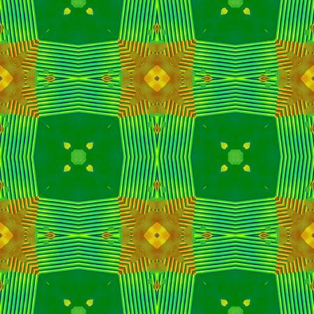 victorian wallpaper: Abstract irregular checkered yellow green victorian wallpaper