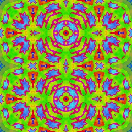 playful: Decorative playful iridescent seamless pattern