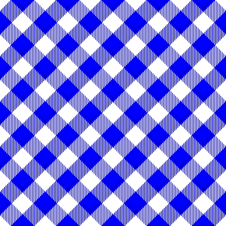 tile able: Abstract checkered diagonally blue white digitally rendered tile able background