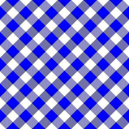 diagonally: Abstract checkered diagonally blue white digitally rendered tile able background