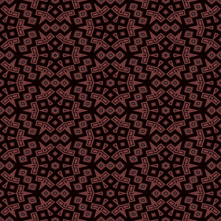 Abstract seamless black brown kaleidoscopic background