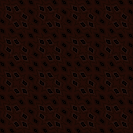shiver: Abstract brown black kaleidoscopic geometric tile