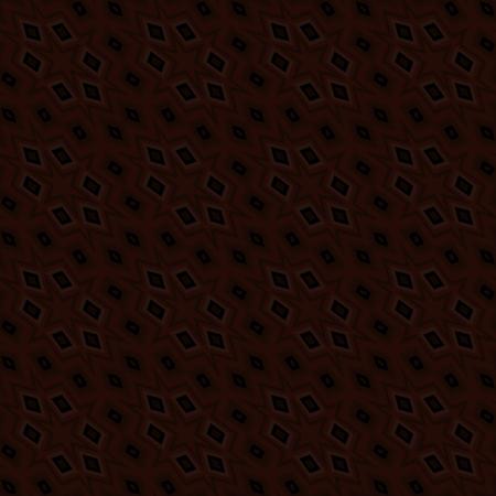sliver: Abstract brown black kaleidoscopic geometric tile