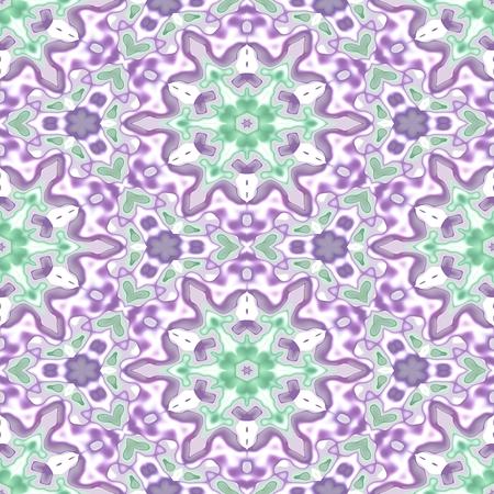 kerseymere: Floral decorative oriental arabian cashmere fractal decorative seamless pattern
