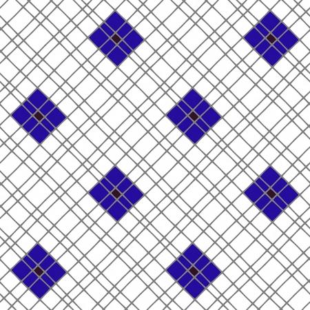 mirroring: Violet white dark purple and gray retro mosaic seamless mirroring background