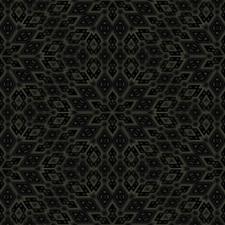 mirroring: Abstract geometric kaleidoscopic fractal mirroring tile able pattern Stock Photo